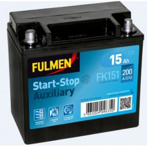 Batterie voiture FULMEN Start-Stop pour LAND ROVER  RANGE ROVER SPORT (LW) (0) Models with Auxiliary / Backup Battery 0 - 0